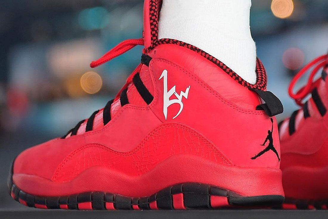 Air Jordan 10 Kemba Walker Pe