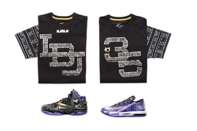 Nike Sp14 Bhm Laydowns Bball Premium Icon Tees
