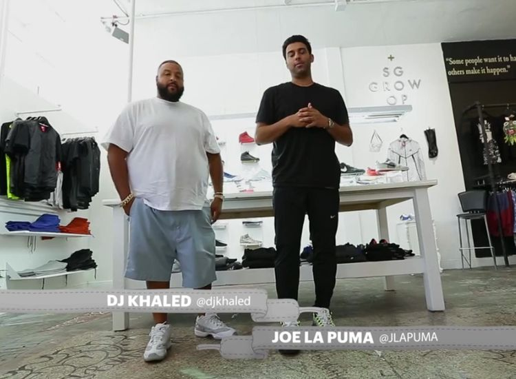 Sneaker Shopping Dj Khaled 11