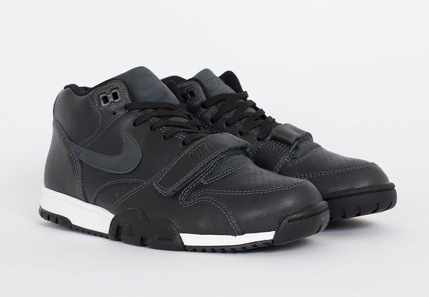 Nike Air Trainer 1 Mid Anthracite Black Leather 0