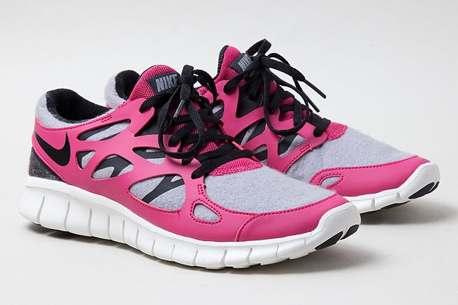 Free Run2 Pink Quarter 1