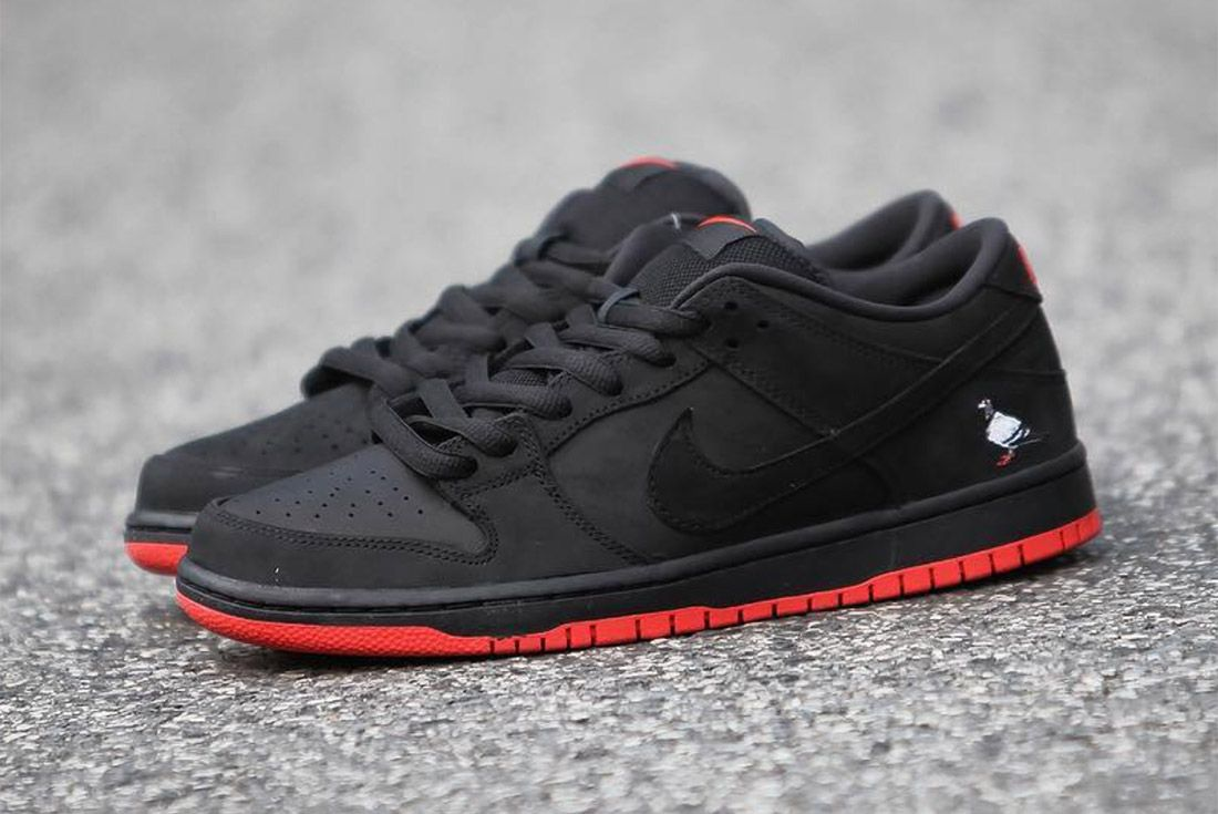 Nike Dunk Low Sb Black Pigeon19