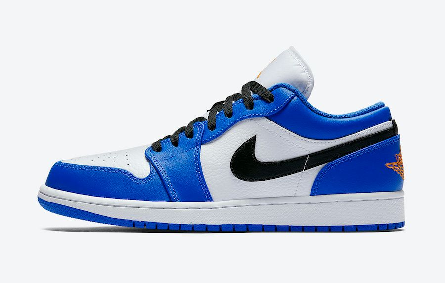 Air Jordan 1 Low Blue Orange