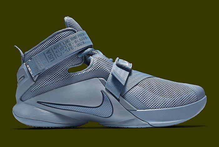 Nike Lebron 9 Soldier Military Matte 3