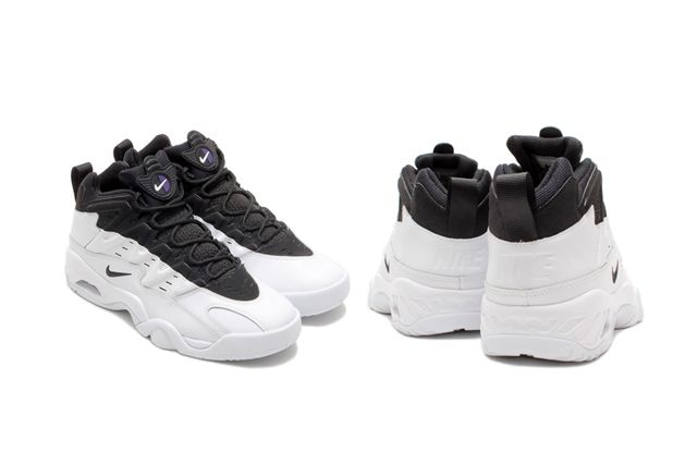 Nike Air Flare White Black 1