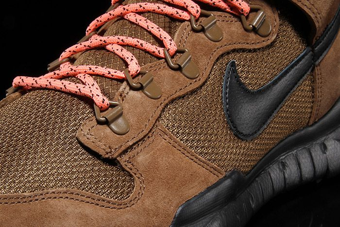 Nike Sb Dunk Hi Boot Military Brown 3