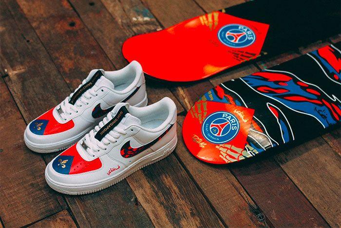Sneaker Freaker Paris Saint Germain Fc Sabotage Collab 11