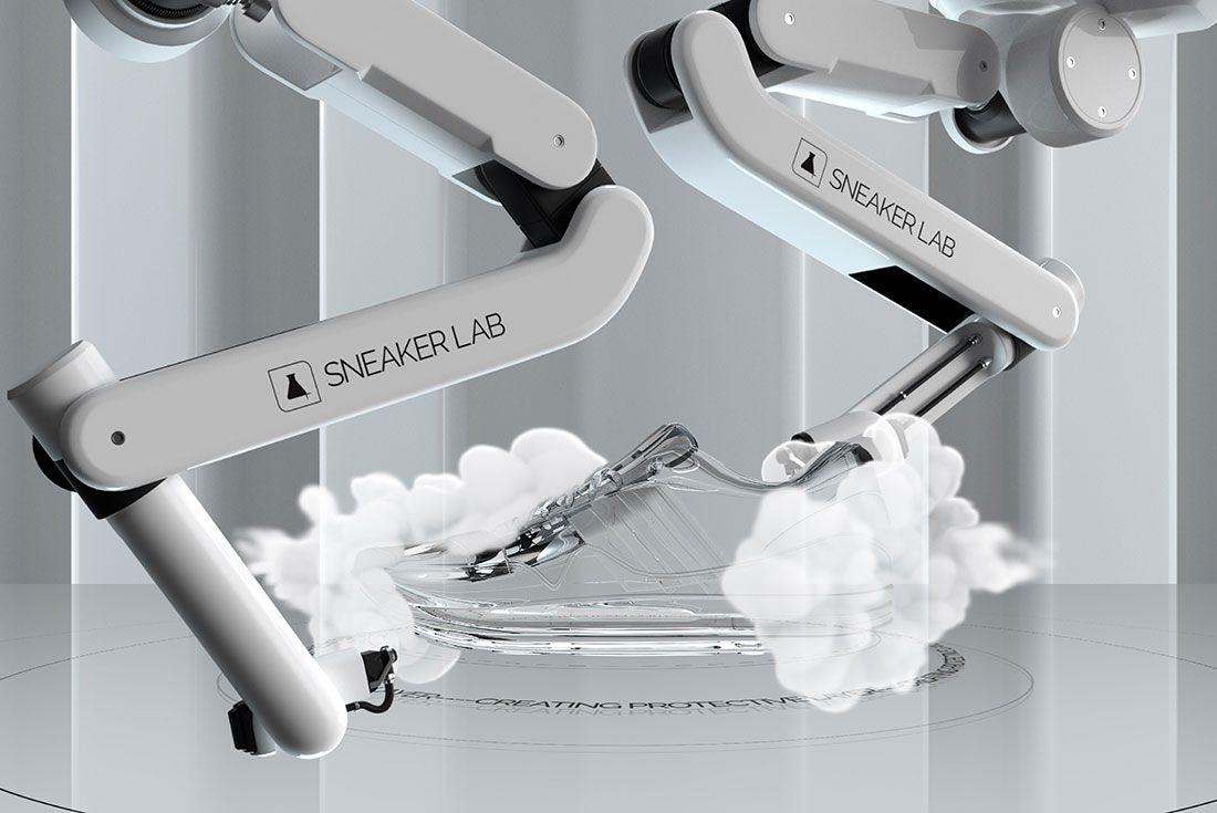 Sneaker Lab Robot Spray