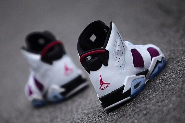 Air Jordan 6 Retro Gs Bright Grape 2