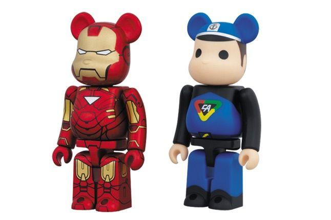 Bearbrick 20 Iron Man 1