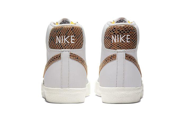 Nike Blazer Mid Vintage Python Ci1176 002 Release Date Heel