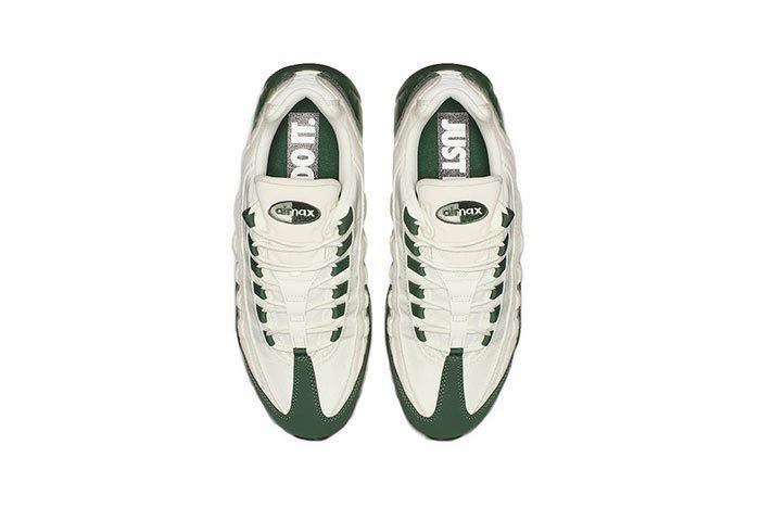 Nike Air Max 95 Sail Green Top Shot 3