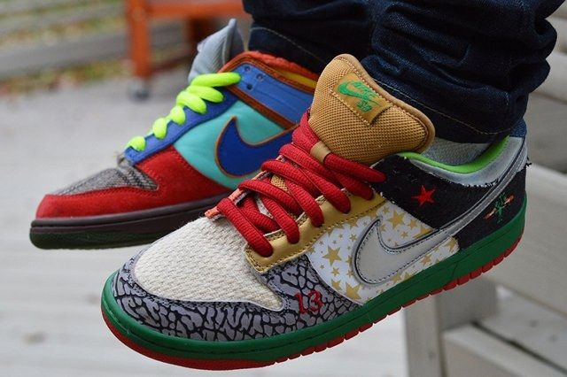 Nike Dunk What The Dunk