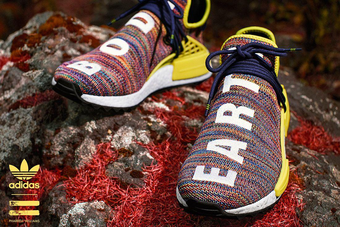 Adidas Pharrell Williams Hu Nmd Trail Pack 5