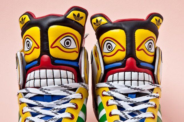 Adidas Originals Js Wings Totem Pole Faces 1