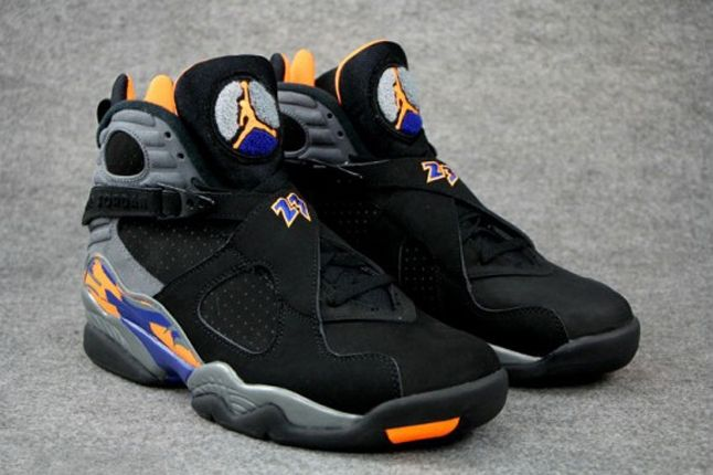 Air Jordan 8 Suns Hero Pair 1