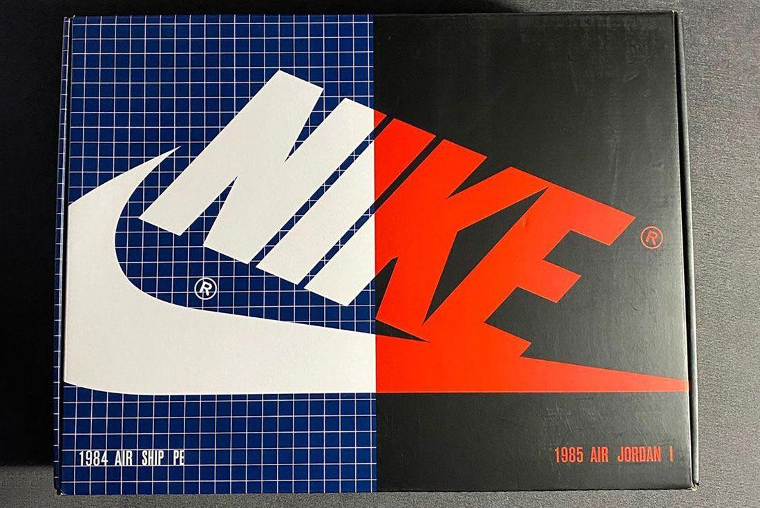 Hiroshi Fujiwara Nike Air Ship Retro Box
