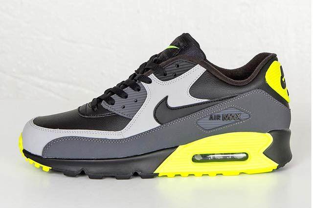 Nike Air Max 90 Wolf Greyblkvolt1