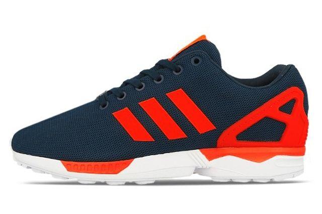 Adidas Originals Zx Flux Dark Blue Solar Red 4