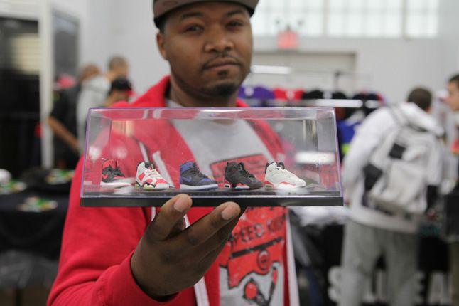 Sneaker Con New York 2012 Jordans Models 1