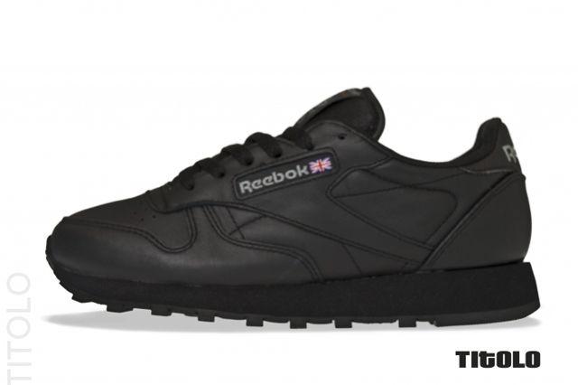 Reebok Classic Leather Triple Black 1 Php