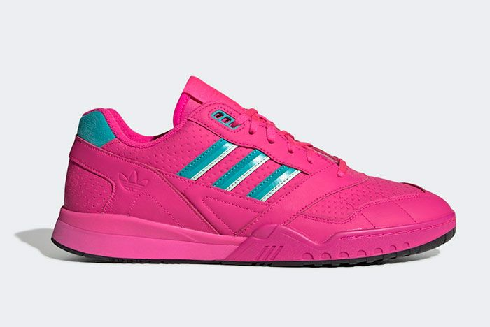 Adidas Ar Trainer Shock Pink Ee5400 Lateral
