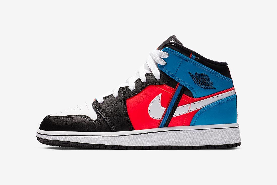 Air Jordan 1 Mid 'Ribbons'