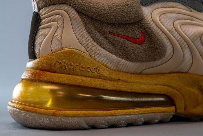 Travis Scott Nike Air Max 270 React Heel 3