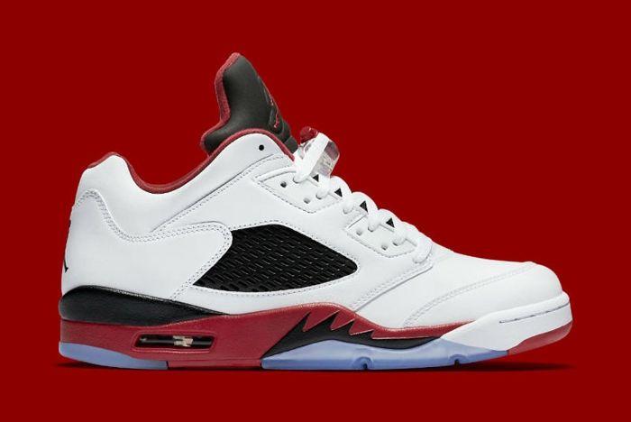 Air Jordan 5 Fire Red 6