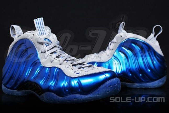 Nike Air Foamposite One Sport Royal Wolf Grey Back To Front 1