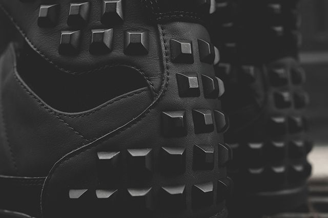 Adidas Y 3 Honja Triple Black Stud Pack 4