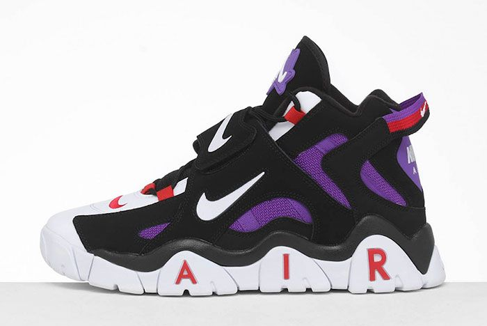 Nike Air Barrage Raptors Cd9329 001 Lateral