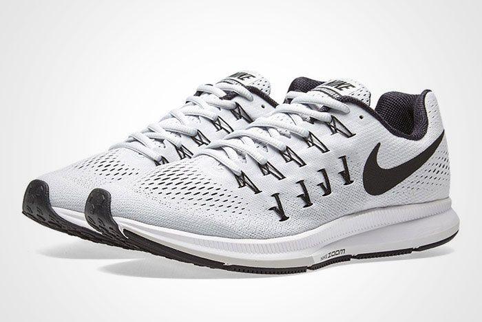 Nike Air Zoom Pegasus 33 White Black Thumb