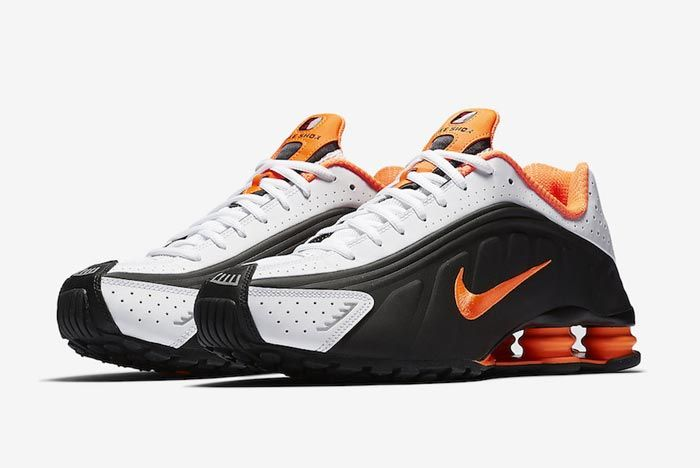 Nike Shox R4 Dutch Orange Pair