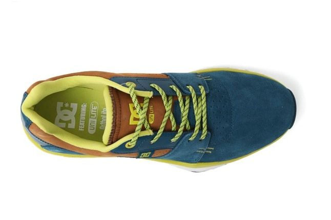 Dc Shoes Player Unilite Blue Aerial 1