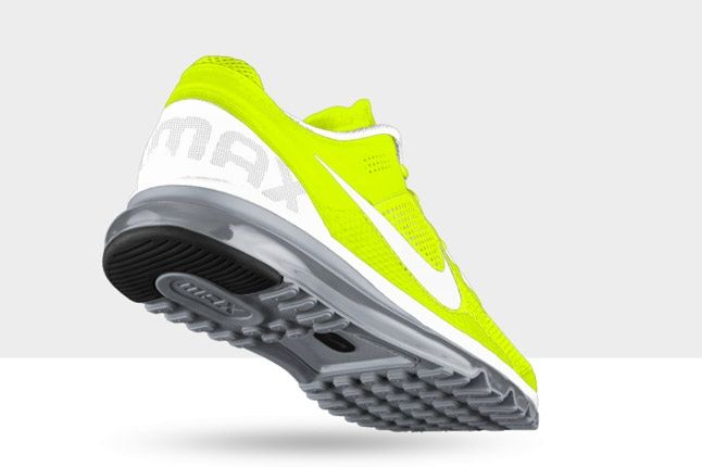 Nikeid Air Max Volt And White Heel 1
