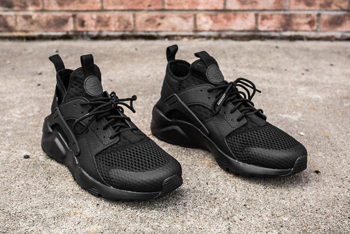Nike Air Huarache Ultra Br Triple Black 5 2