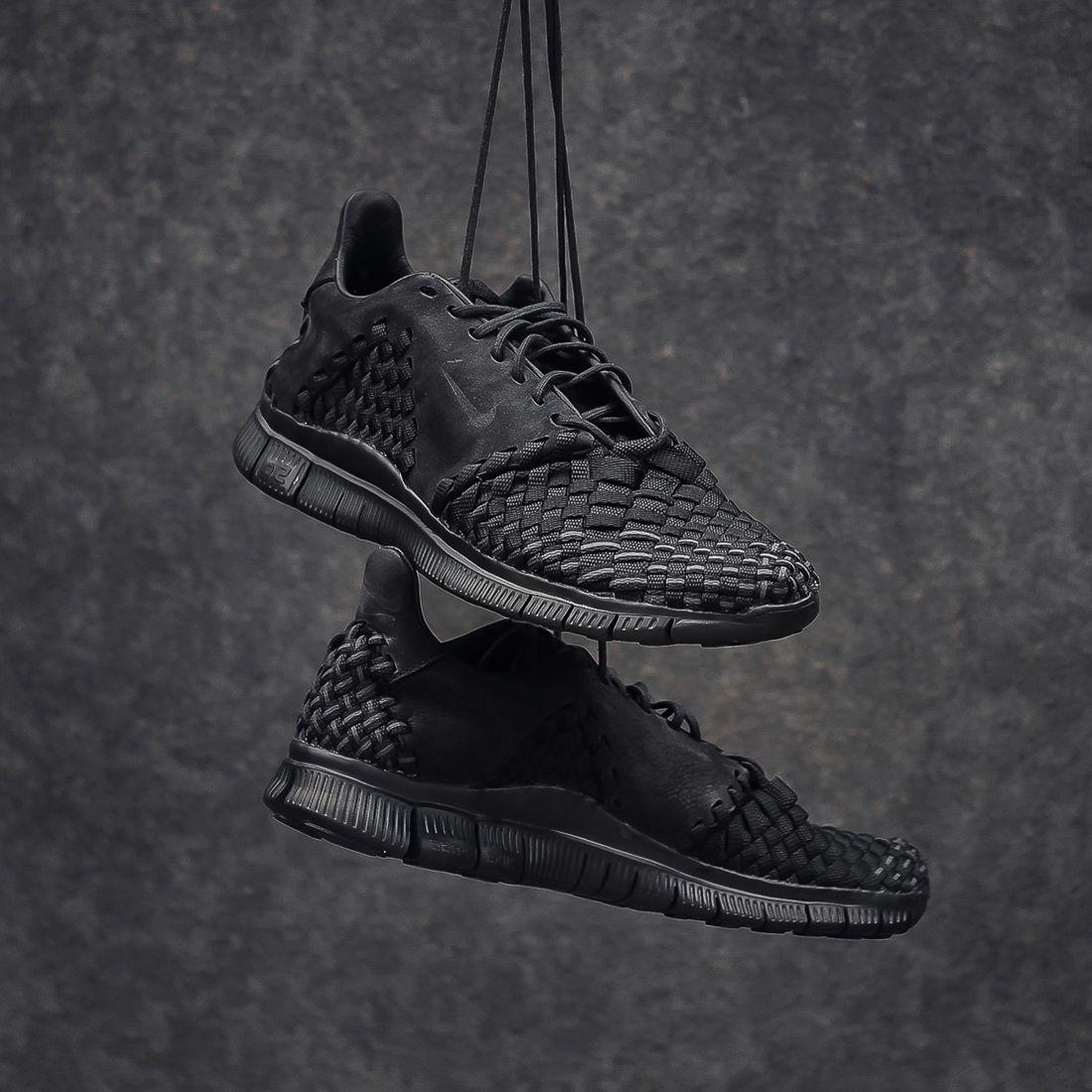 Nike Free Inneva Woven 2 Triple Black5