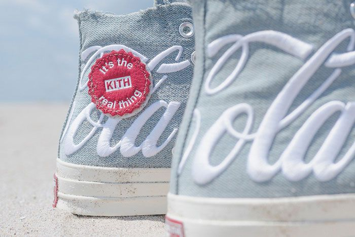 Kitch Coca Cola Covnerse Chuck 70 Closeup Heel