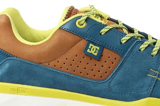 Dc Shoes Player Unilite Blue Midfoot Detail 1