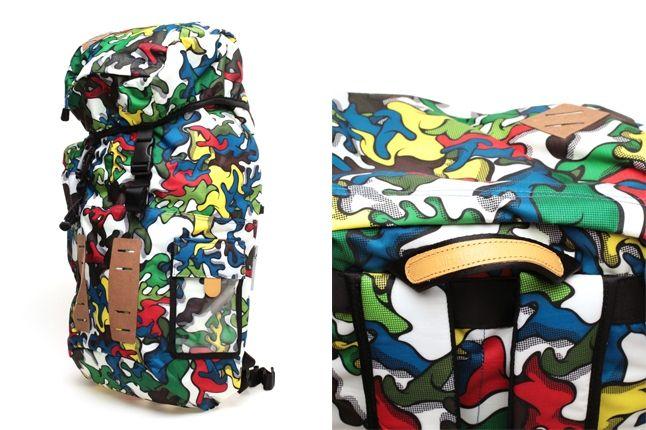 Miharayasuhiro Puma Pop Art Camo Backpack Side Detail 1