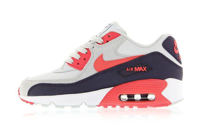 Nike Air Max 90 Gs Ember Glowplatinum 1 1