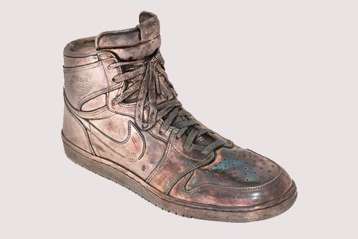 Air Jordan 1 Heritage Auctions Silver Cast 1