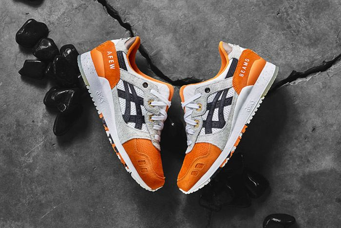Afew Beams Asics Gel Lyte Iii Orange Koi 1