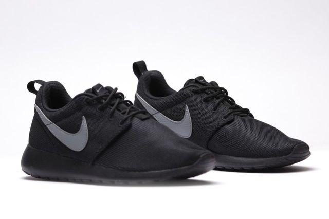 Nike Roshe Run Gs Cool Grey Black 4