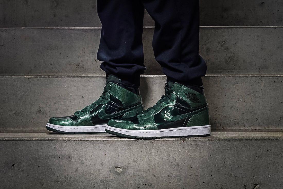 Air Jordan 1 Retro Hi Grove Green 2