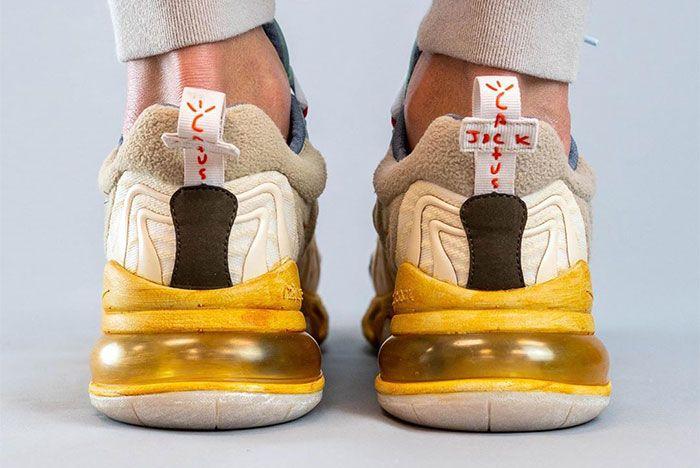 Travis Scott Nike Air Max 270 React Heel 4
