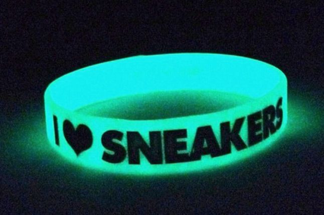 I Love Sneakers Bands 3 Pack Glow 1
