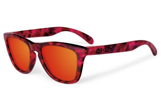 Oakley Acid Tortoise Frogskins Pink 1