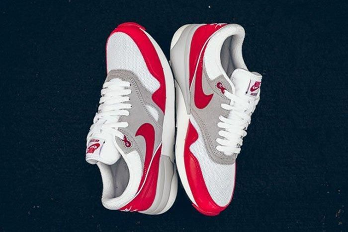 Nike Air Odyssey (White/University Red